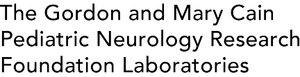 The Gordon and Mary Cain Pediatric Neurology Research Foundation Laboratories